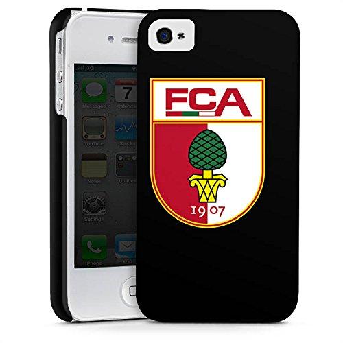 Apple iPhone 7 Plus Hülle Case Handyhülle FC Augsburg Fanartikel Fußball Premium Case glänzend
