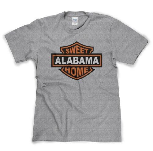Sweet Home Alabama Classic Rock Musik Legends Retro-T-Shirt Sports Grau