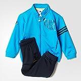 adidas Baby Trainingsanzug Messi, Blau/Schwarz, 104, AB6997