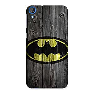 Enticing Knight On Wood Print Multicolor Back Case Cover for HTC Desire 820s