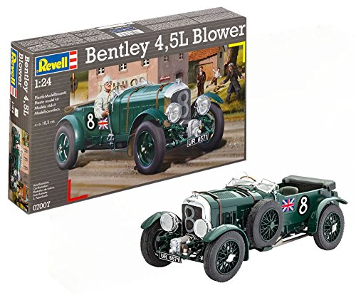 Revell - Maqueta Bentley 4,5L Blower, kit modelo, escala 1:24 (07007)