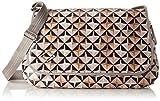 Oilily Damen Lori Geometrical Diaperbag Lhf Umhängetasche, Pink (Rose), 16x30x44 cm