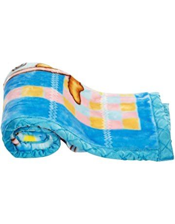 Mee Mee Soft Baby Blanket (Regular, Dark Blue - Duckling Print)
