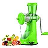 Swara Deluxe Fruit And Vegetable Manual Polypropylene Hand Juicer With Steel Handle (Standard, Multicolour)