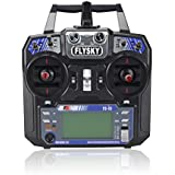 Fly Sky FS I6 2.4 G 6 Ch AFHDS RC Transmitter with I A6 Receiver Left Hand