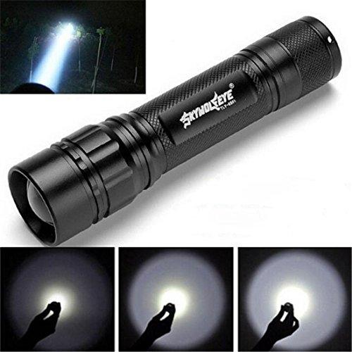 Kleine Polizei Taschenlampe (HCFKJ 3000 Lumen 3 Modi Cree Xml Xpe Led 18650 Taschenlampe Lampe Leistungsstarke)