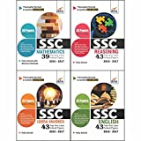 SSC Topic-Wise Latest 43 Solved Papers (2010-2017) - Set of 4 Books