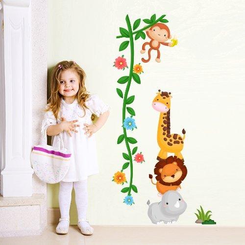 R00252 Adesivo murale per bambini Wall Art - Scimmietta ladra - Misure...