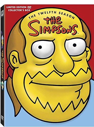 Les Simpson: L'intégrale de la saison 12 - Tête de Jeff Albertson - Coffret 4 DVD (Coffret Collector - Édition limitée), DVD/BluRay