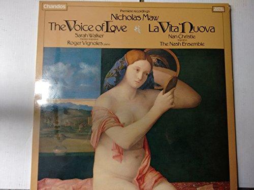 MAW, Nicholas: The Voice of Love, La Vita Nuova -- CHANDOS (1981)Walker S., Vignoles R., (1037 Vinyl)
