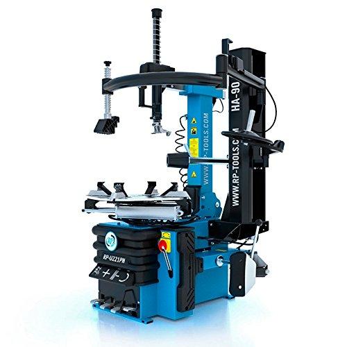 """Montiermaschine Reifen PKW Vollaut. 400V (2 Stufen) 10 - 24"""" mit pneumatisch kippbarer Säule + Hilfsarm HA90R"""