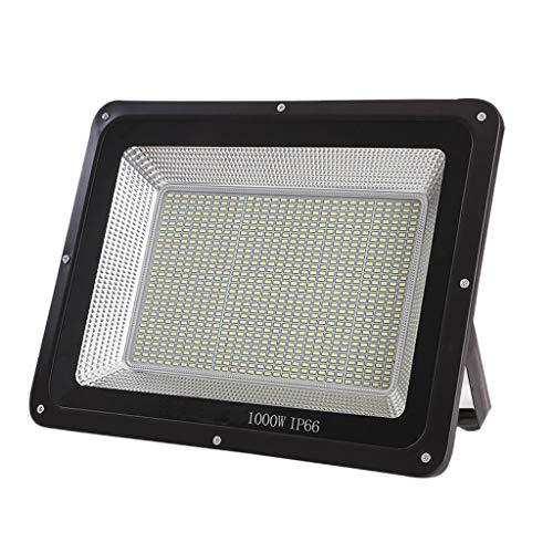 Xien LED Strahler mit, wasserdichtes IP66 Sicherheitslicht für den Außenbereich weißes Licht 6000K Garten Innenhof Werkstatt Standortbeleuchtung (Farbe : 1000W) Solaris-panels