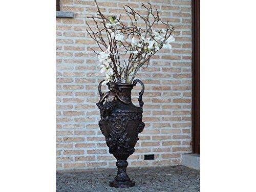 H. Packmor GmbH Bronze Vase mit Engel