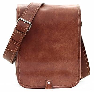 LE MESSAGER (S) cuir couleur naturel besace gibecière style Vintage PAUL MARIUS