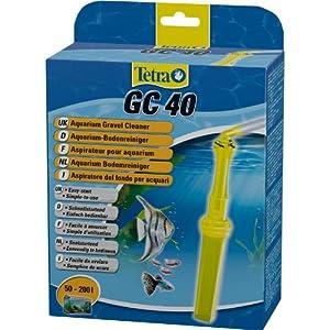 [Gesponsert]Tetra GC 40 Komfort Aquarien-Bodenreiniger mit Schlauch, Schnellstartventil und Fischschutzgitter, Saugrohrkonstruktion
