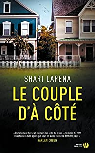 Le couple d'à côté par Shari Lapena