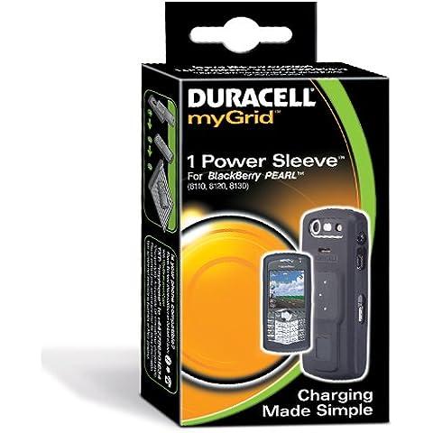 Duracell myGrid BlackBerry Pearl Sleeve - Cargador (Negro)