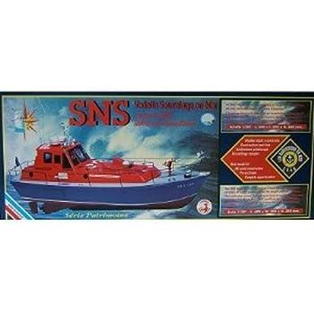 Soclaine - SN1500 - Maquette - Vedette de Sauvetage en Mer - Echelle 1:20