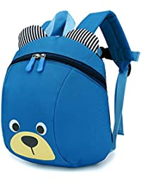 0fae5c59a78f PER Lovely Bear Backpacks With Anti-Lost Safety Straps Safety Belt  Protector For…