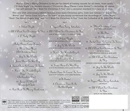 Merry Christmas - 25th Anniversary Edition - [Japan Bonus Track]