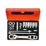 Bahco R6725ZK Werkzeugsatz für Kältetechnik 1/4 Zoll 19-teilig