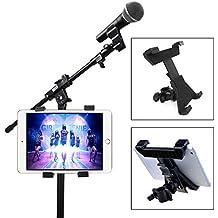 """Xcellent Global Soporte Universal para Tablet iPad 7""""-11"""" con Soporte de Micrófono, Soporte para Bicicleta CA039"""