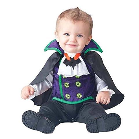 Costumes Garçons Vampire - Dantiya-Bébé Fille Garçon Costume de Déguisement Combinaison