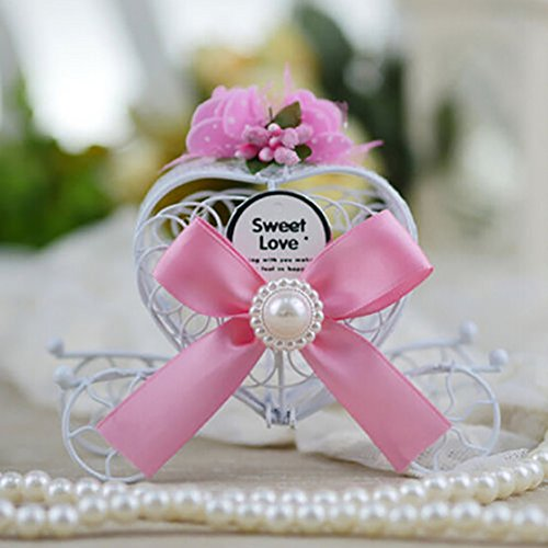 Cinderella Hochzeit Pralinenschachteln begünstigt Candy Birthday Party Carriage Decor(Bank)