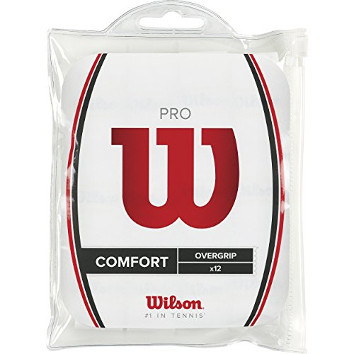 Wilson WRZ4016WH Overgrip 12 pièces