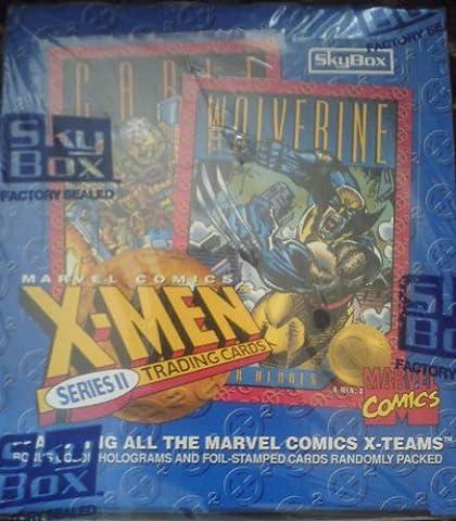 marvel x-men series 2 trading cards - sealed box 1993