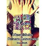 DIY Manualidades Pulseras Artesanales: Crea tus propias pulseras con hilo de colores, cuero y abalorios