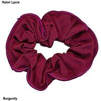 Coletero de pelo brillante nylon/Lycra (Burdeos)