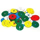 Sockensammler 40 Stück – Sockenclips – je 5 in einer Farbe – waschmaschinenfest trocknergeeignet