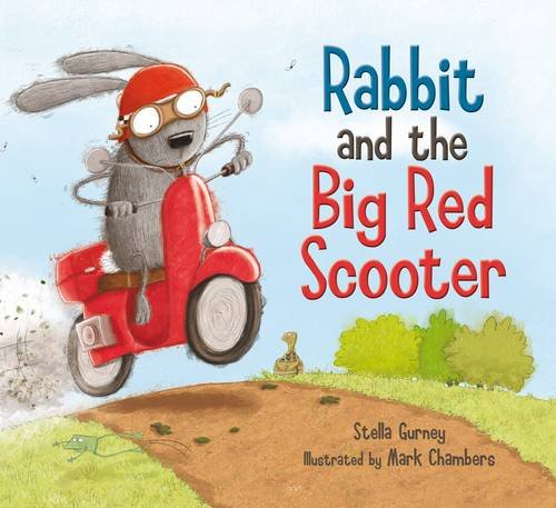 Rabbit and the Big Red Scooter Cover Image