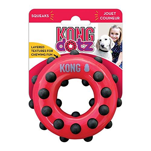 Kong JU04087 Dotz Circle Large