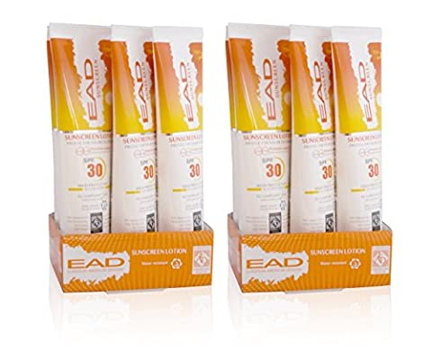 EAD Sunscreen SPF 30 Lotion, Water Resistant Travel Size, 95