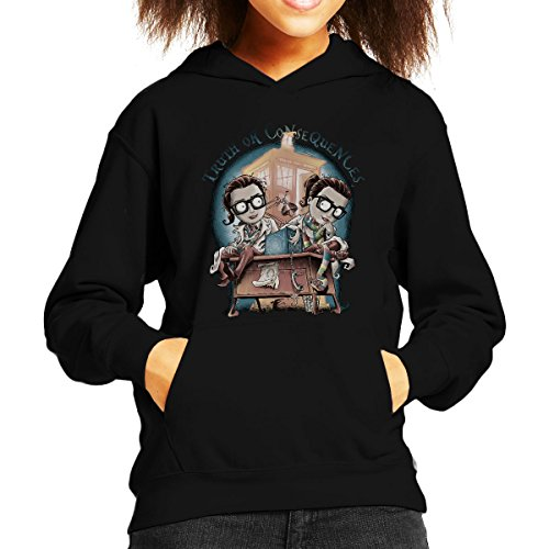 Doctor Who Truth Or Consequences Kid's Hooded Sweatshirt