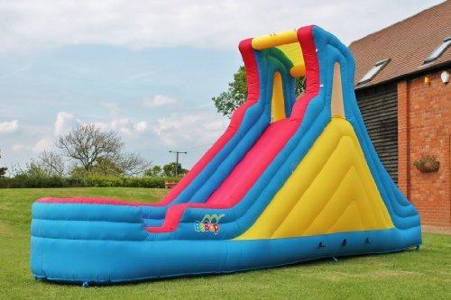 BeBop?Splash Mountain Inflatable?Water Slide Bouncy Castle