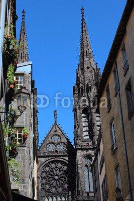 Clermont Ferrand (70781846), canvas, 30 x 50 cm: Amazon.co.uk ...