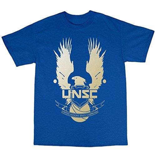 UNSC T-Shirt 100% Baumwolle K�nigsblau