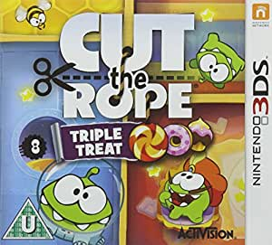 PRE-ORDER! Cut the Rope Triple Treat Nintendo 3DS Game UK