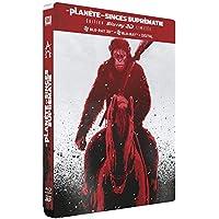 La Planète des singes : Suprématie - 3D Bluray + BD + DHD - Steelbook Edition Limitée