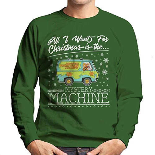 t for Christmas Is The Mystery Machine Men's Sweatshirt (Velma Pullover)