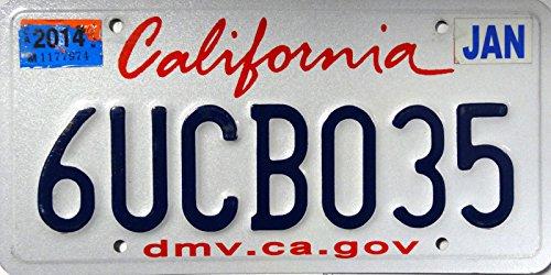 USA Nummernschild CALIFORNIA ~ US Kennzeichen Schild Kalifornien ~ Blechschild