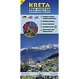Kreta Touristikkarte 1:100.000: Der Westen (Touristikkarten Kreta 1:100.000)