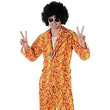 Disfraz disco hippie hombre