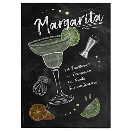Große Margarita (JUNIWORDS Poster mit/ohne Holzrahmen - Wähle ein Motiv - Cocktail Margarita - Wähle eine Größe - 21 x 30 cm (S) ohne Rahmen)