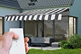 Elektrische Gelenkarmmarkise Markise Sonnenmarkise Sonnenschutz, verschiedene Farben und Größen