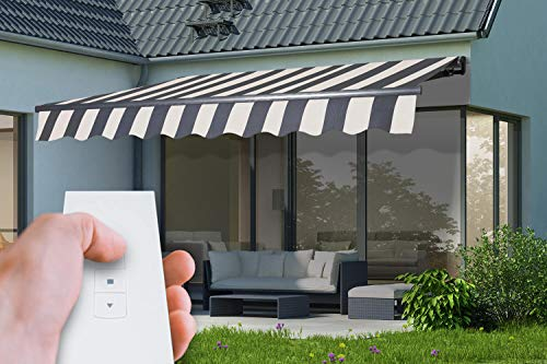 Elektrische Gelenkarmmarkise Markise Sonnenmarkise Sonnenschutz, verschiedene Farben - 300 x 250 cm