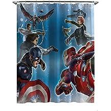 Marvel Capitán América Guerra Civil partes de guerra algodón toalla de baño